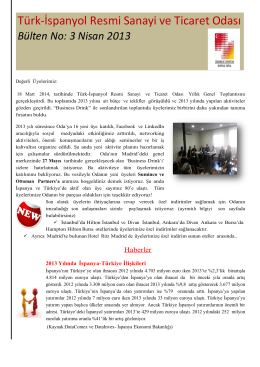 Türk-İspanyol Resmi Sanayi ve Ticaret Odası