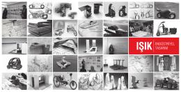 Endüstriyel Tasarım Bölümü Tanıtım Broşürüİndir