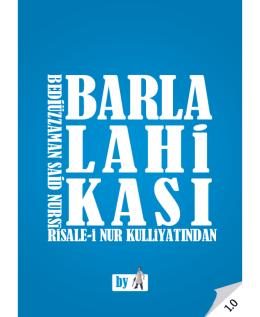 (Barla Lahikasi - Risale
