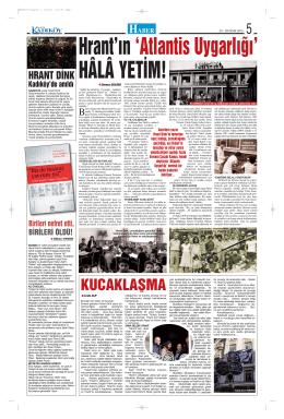 KUCAKLAŞMA - Gazete Kadıköy