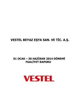 Faaliyet Raporu (Haziran 2014)