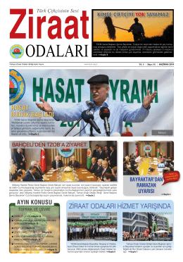 Haziran - Türkiye Ziraat Odaları Birliği