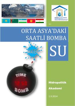 orta asya raporu - Hidropolitik Akademi