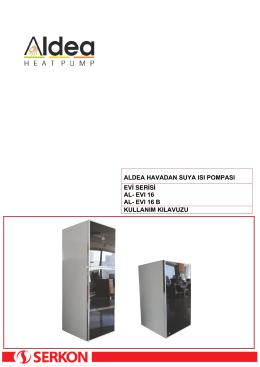 ALDEA EVİ Serisi Split Model Kullanım Kılavuzu