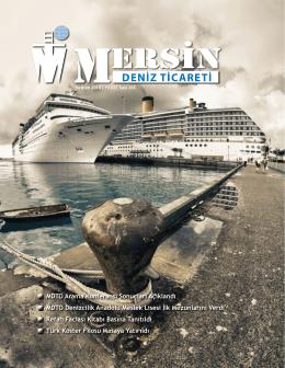 Deniz Ticareti Dergisi Haziran 2014 Sayısı