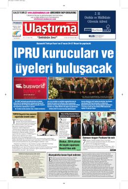 """""""Sektörün Sesi"""" Otokar, 2014 yılının ilk büyük siparişini"""