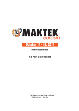 Maktek Fair Final Report