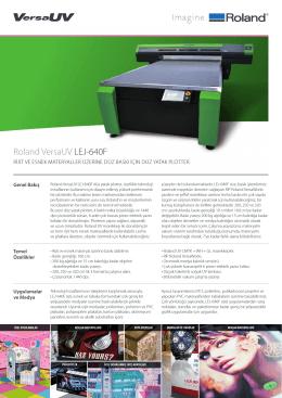 LEJ-640F Broşür - OTS Dijital Baskı Çözümleri