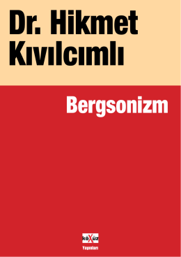 Bergsonizm