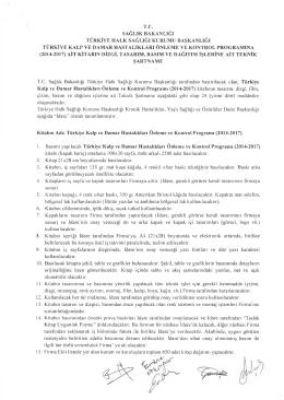 tc sağlık bakanlığı türkiye halk sağlığı kurumu başkanlığı türkiye kalp