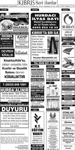 BURHAN - Kıbrıs Gazetesi