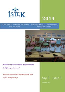 2014 - İSTEK Okulları