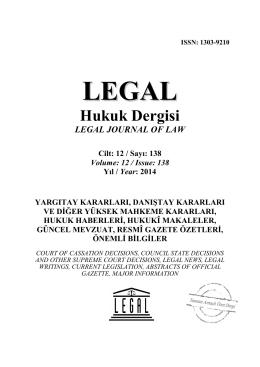 lhd HAZİRAN 138 BROŞÜR