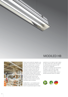 MODILED HB datasheet
