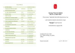 Rektörlük Türk Halk Müziği Korosu