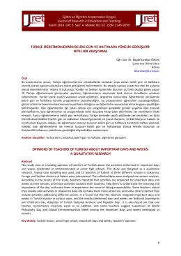 02. Karakoç-Öztürk - Eğitim ve Öğretim Araştırmaları Dergisi