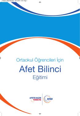 Ortaokul_Kitabi_Mizanpaj 1.qxd - Trabzon İl Afet ve Acil Durum