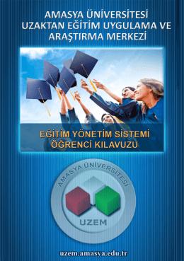 buradan - Amasya Üniversitesi