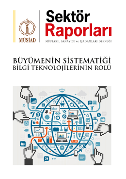 büyümenin sistematiği: bilgi teknolojilerinin rolü