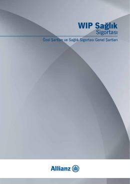 WIP Sağlık Sigortası Özel ve Genel Şartlar PDF