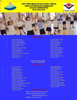 AFİS PDF - Beden Eğitimi Bilim Danışmanlığı