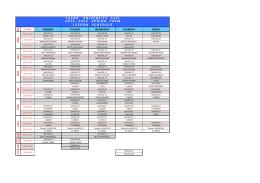2014-2015 SOFL Bahar Ders Programı