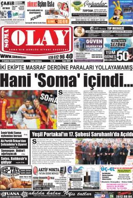 C - Soma Olay Gazetesi