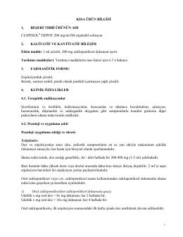 Clopixol® Depot 200 mg/ml IM Enjektabl solüsyon