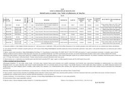 ilan 2015 araç - Orman Genel Müdürlüğü