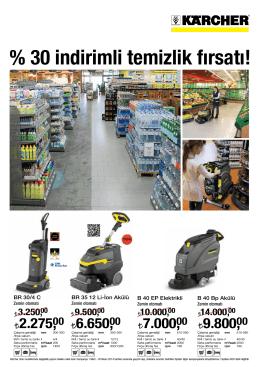 % 30 indirimli temizlik fırsatı! - Karcher Türkiye l Basınçlı Yıkama