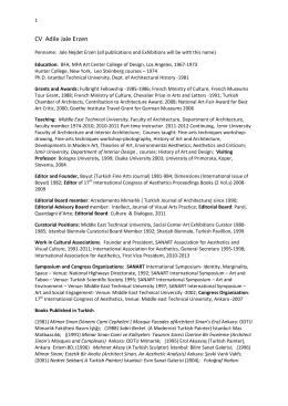CV Adile Jale Erzen