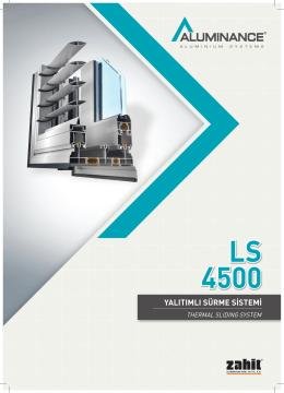 LS 4500 - Akmanlar Alüminyum Profil Market