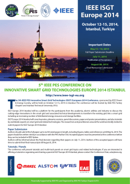 IEEE_PES_ISGT_Europe 2014_Call_Paper Booklet