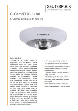G-Cam/EHC-3180 - GEUTEBRÜCK GmbH
