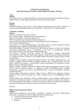ERASMUS_yönerge - Acıbadem Üniversitesi