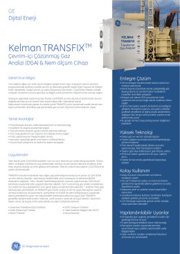 KelmanTRANSFIX - GE Digital Energy
