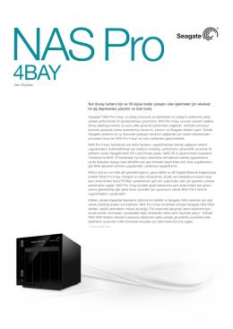 4-Bay Veri Sayfası
