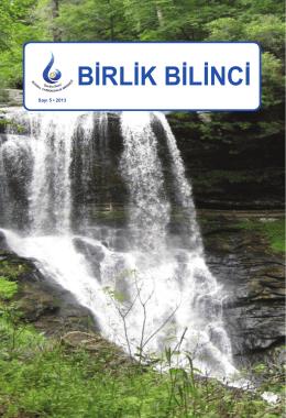 BİRLİK BİLİNCİ - sabihabetul.com