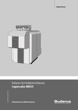 Kullanıcı İçin Kullanma Kılavuzu Logano plus SB625