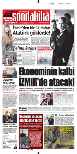 Atatürk göklerde! - Sondakika Gazetesi
