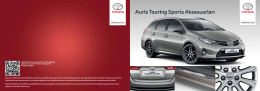 Toyota Auris TS Aksesuarları