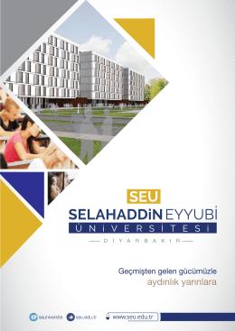 w w w . s e u . e d u . t r - Selahaddin Eyyubi Üniversitesi