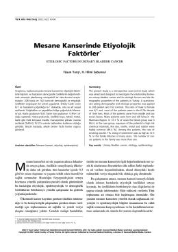 03. MESANE KANS. (SF. ÜLAVELÜ) - Türkiye Aile Hekimliği Dergisi