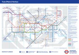 Tube (Metro) Haritası PDF 1.89MB