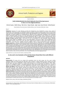 Download full text - Animal Health, Production and Hygiene