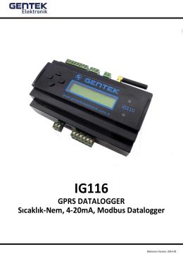 IG-116 Kullanma Kılavuzu PDF