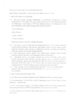 insan kaynakları ve eğitim müdürlüğü sözleşmeli personel alımı