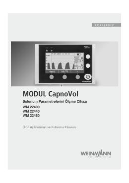 MODUL CapnoVol - WEINMANN Emergency