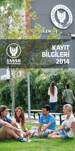 2014-2015 Akademik Yılı Öğrenim Ücretleri ve