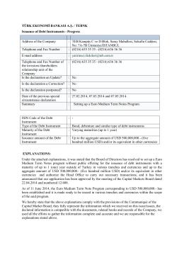 EMTN Program, June 11, 2014